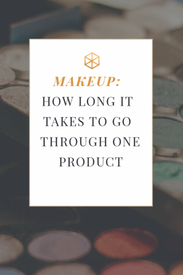 makeup products last