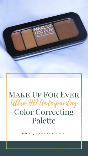 MUFE color correcting palette