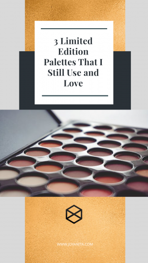 limited edition palettes