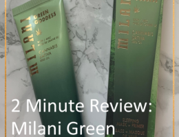 Milani Green Goddess mask