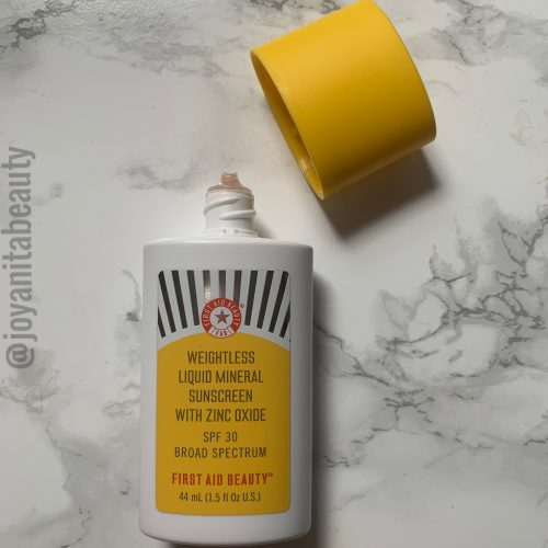 First Aid Beauty, mineral sunscreen