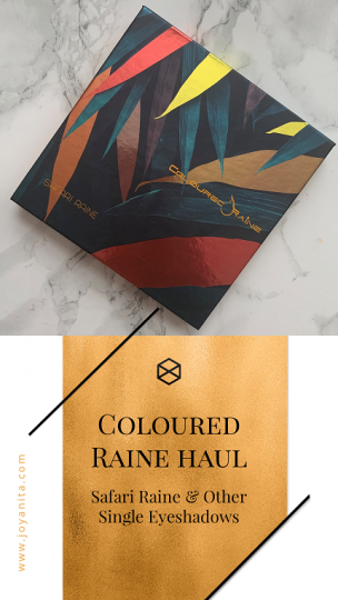 Coloured Raine Haul