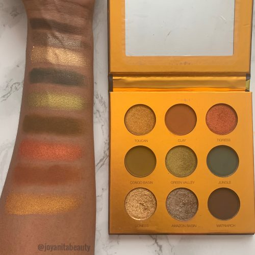 Coloured Raine Safari Raine eyeshadow palette