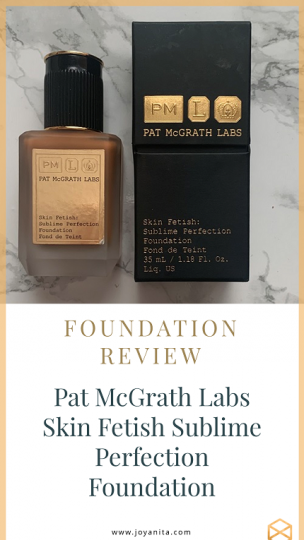 Pat McGrath Labs Skin Fetish, foundation, deep skin MD25