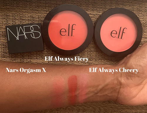 Elf Always Cheery, primer-infused blush