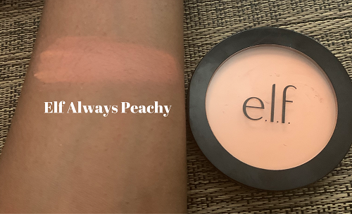 Elf Always Peachy, primer-infused blush