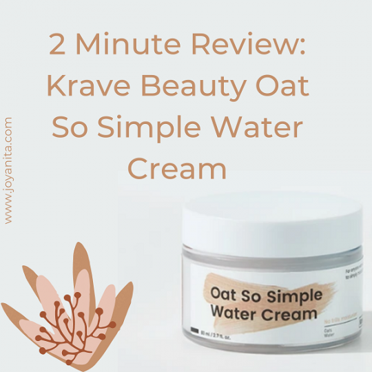 krave beauty, 2 minute review