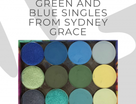 green and blue, Sydney Grace