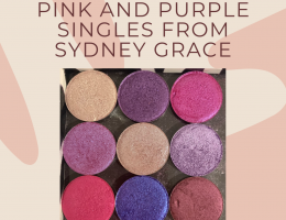 pink and purple, Sydney Grace