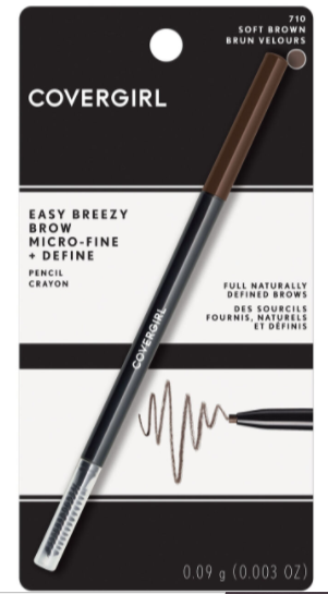 covergirl brow pencil