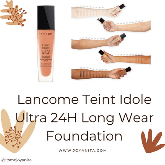teint idole foundation, 460 Suede W, wear test