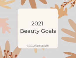 2021 beauty goals