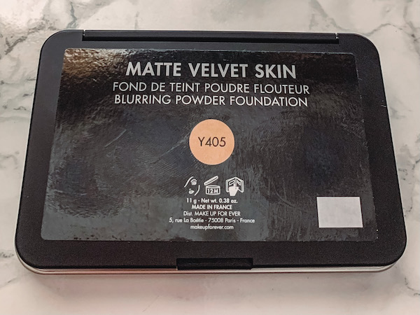 make up for ever, powder foundation, Y455, deep skin swatches, oil skin friendly, combo skin, summer foundation, MUFE, shade range, shade comparisons, Y405, Y455, Y505, deep skin swatches, dark skin swatches, neutral undertone, compact packaging