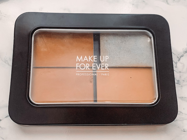 make up for ever, powder foundation, Y455, deep skin swatches, oil skin friendly, combo skin, summer foundation, MUFE, shade range, shade comparisons, Y405, Y455, Y505, deep skin swatches, dark skin swatches, neutral undertone, packaging